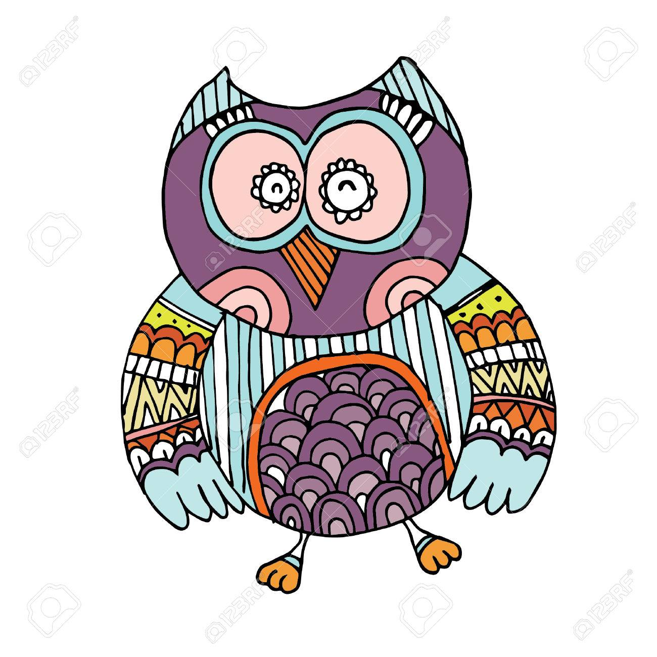 owl doodle vector royalty free cliparts vectors and stock rh 123rf com vector owner vector owners manual