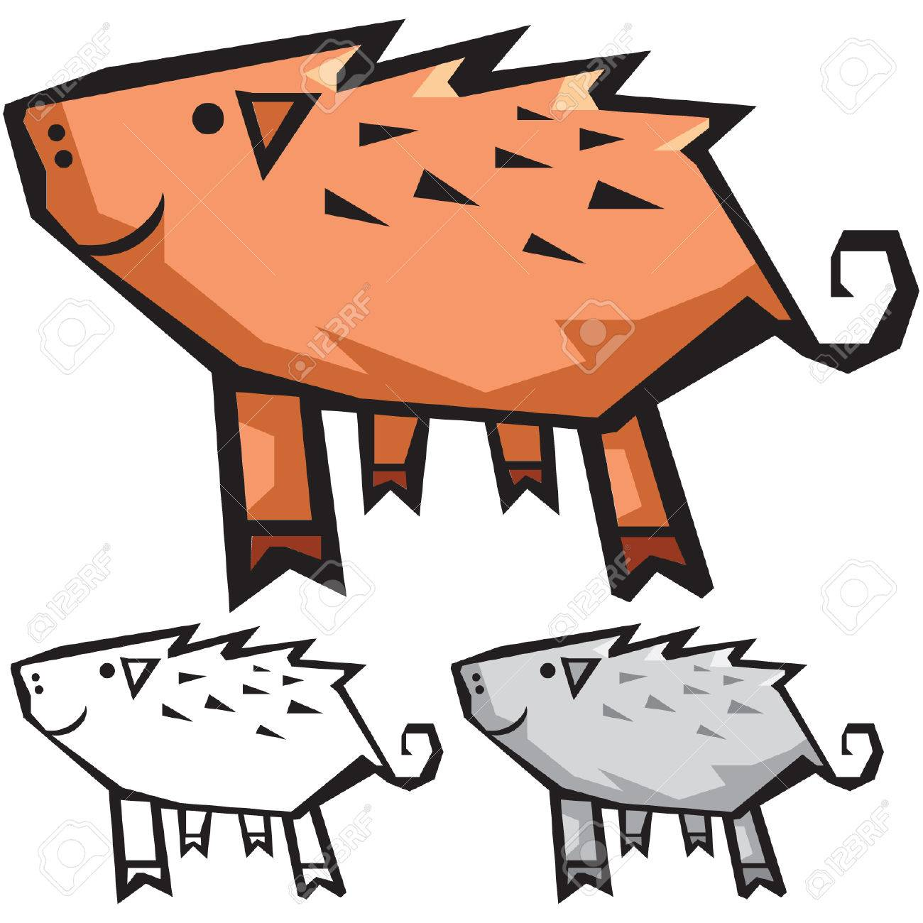 Pig Stock Vector - 2331862