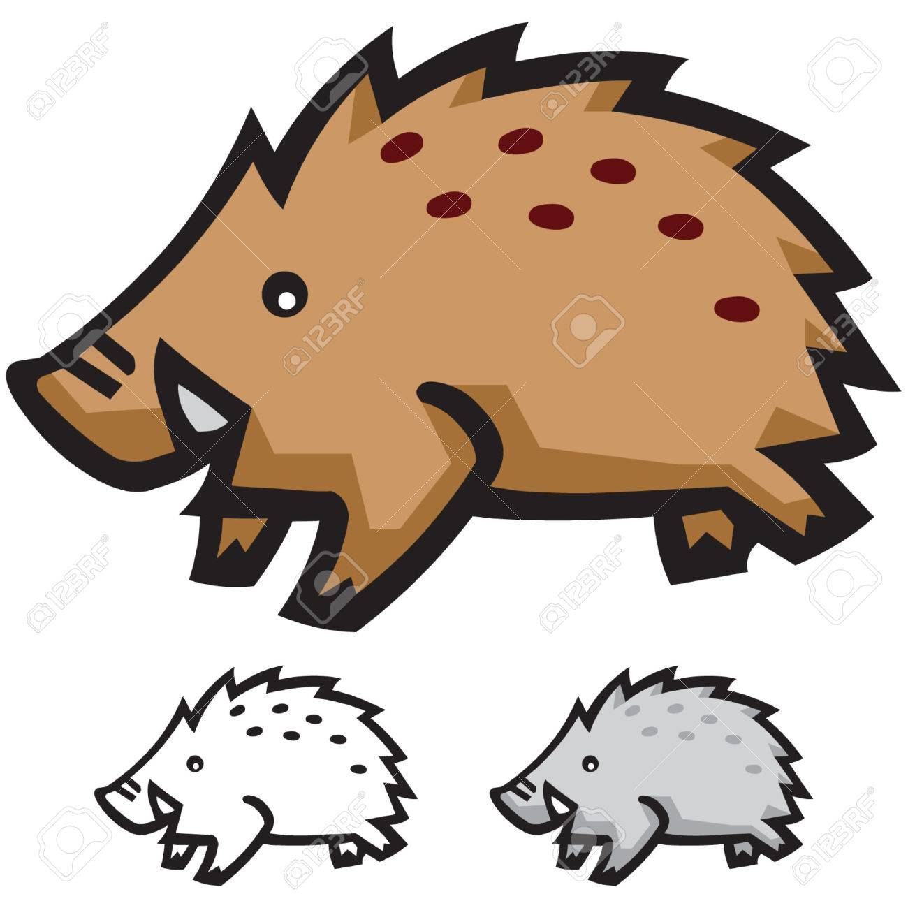 Pig Stock Vector - 2332038