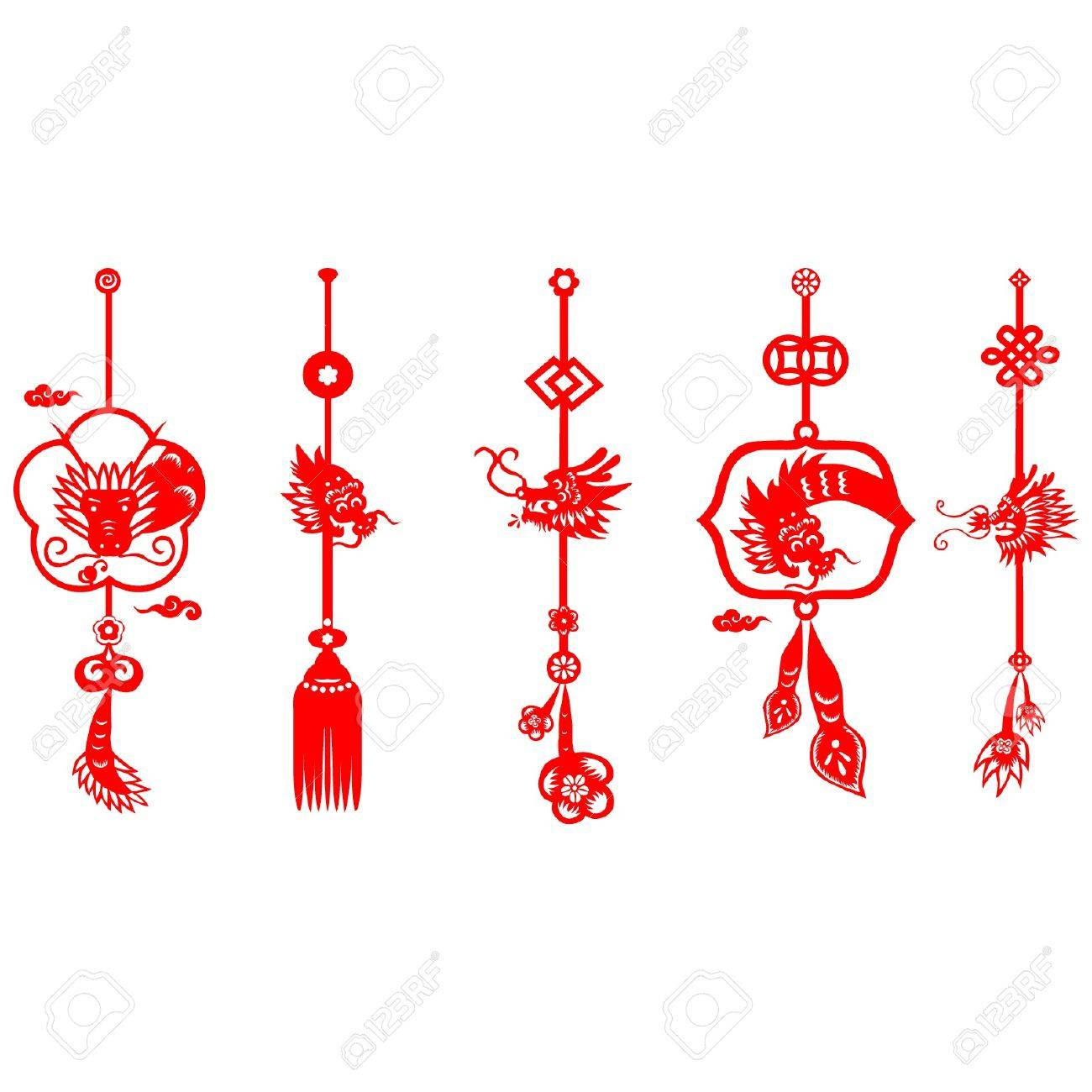 chinese new year dragon 2012 stock vector 11654957 - Chinese New Year 2012