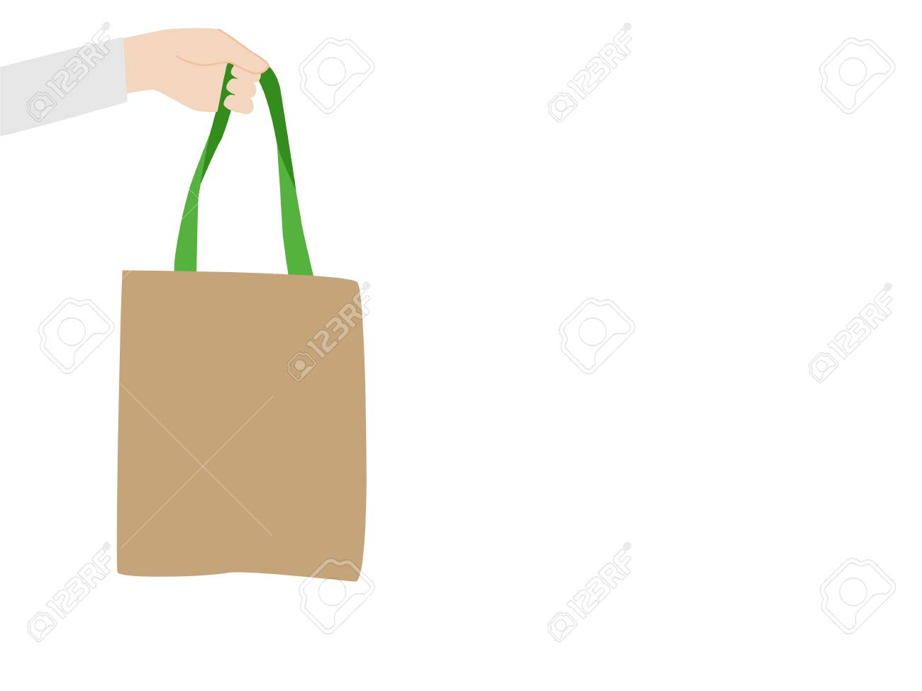 Sav On Bags >> Thank You For Not Using Plastic Bags People Hold Hand Paper