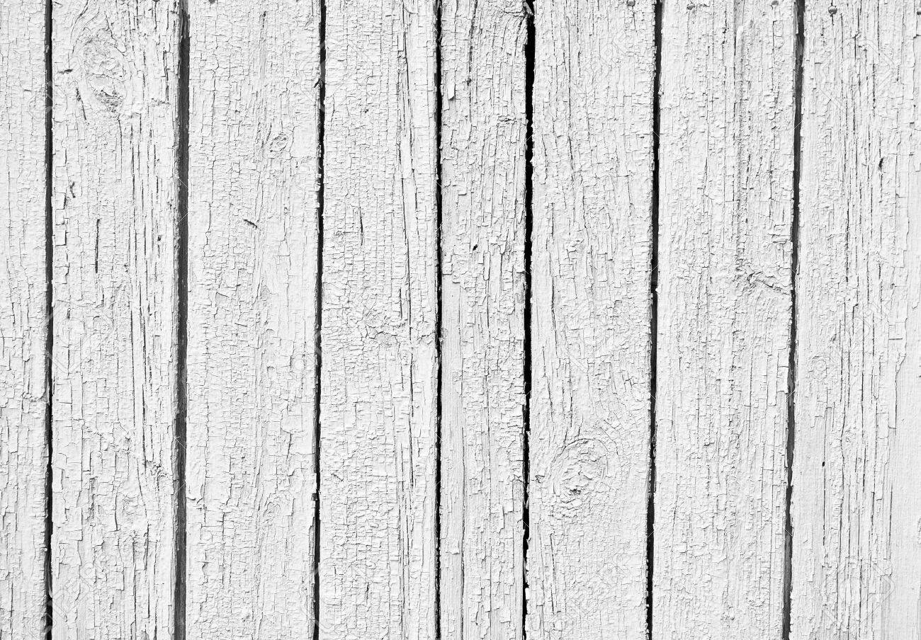 the old Weathered white wooden textured background Stock Photo - 8473348