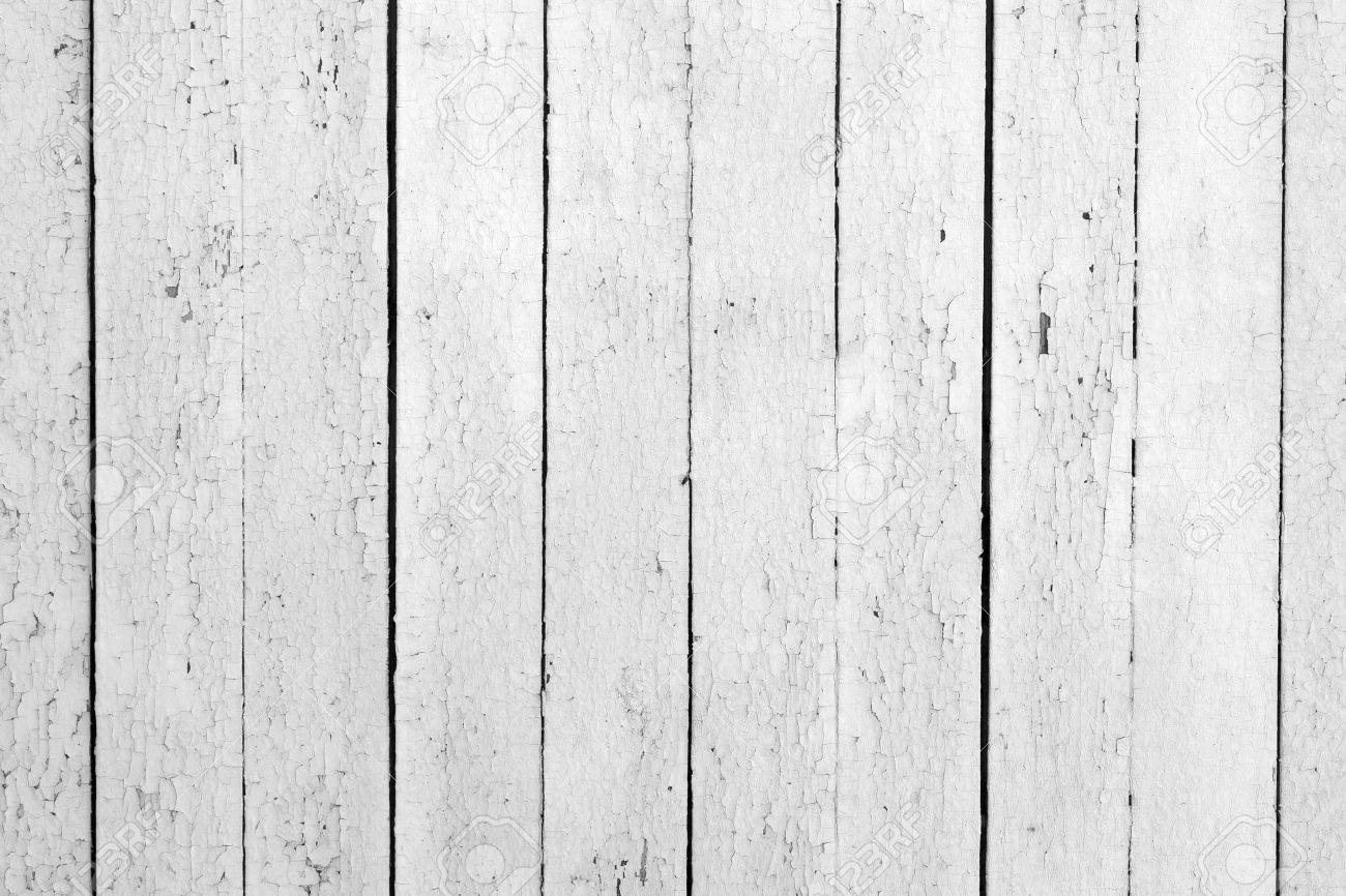 the background of weathered white painted wood Stock Photo - 10170948