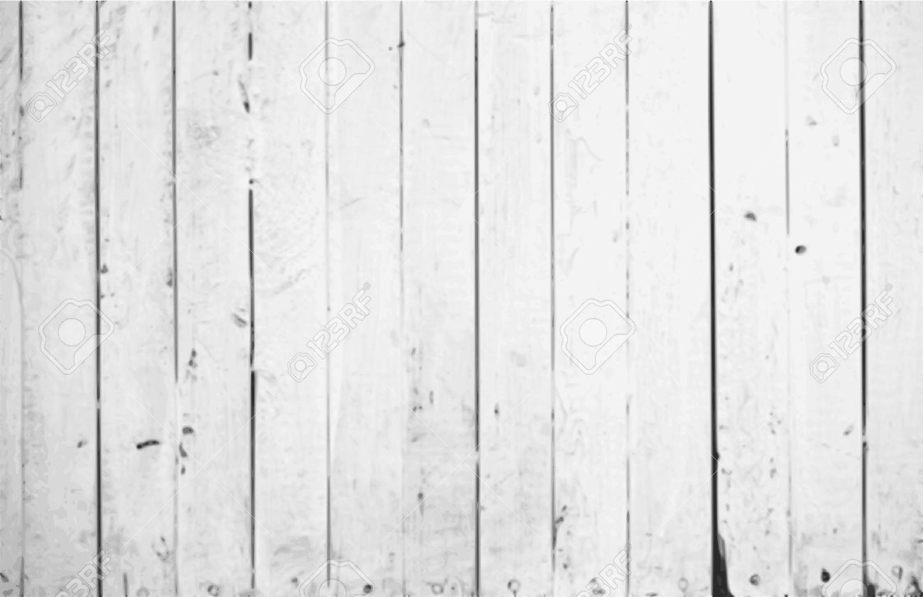 De vector vintage witte achtergrond houten muur royalty vrije ...