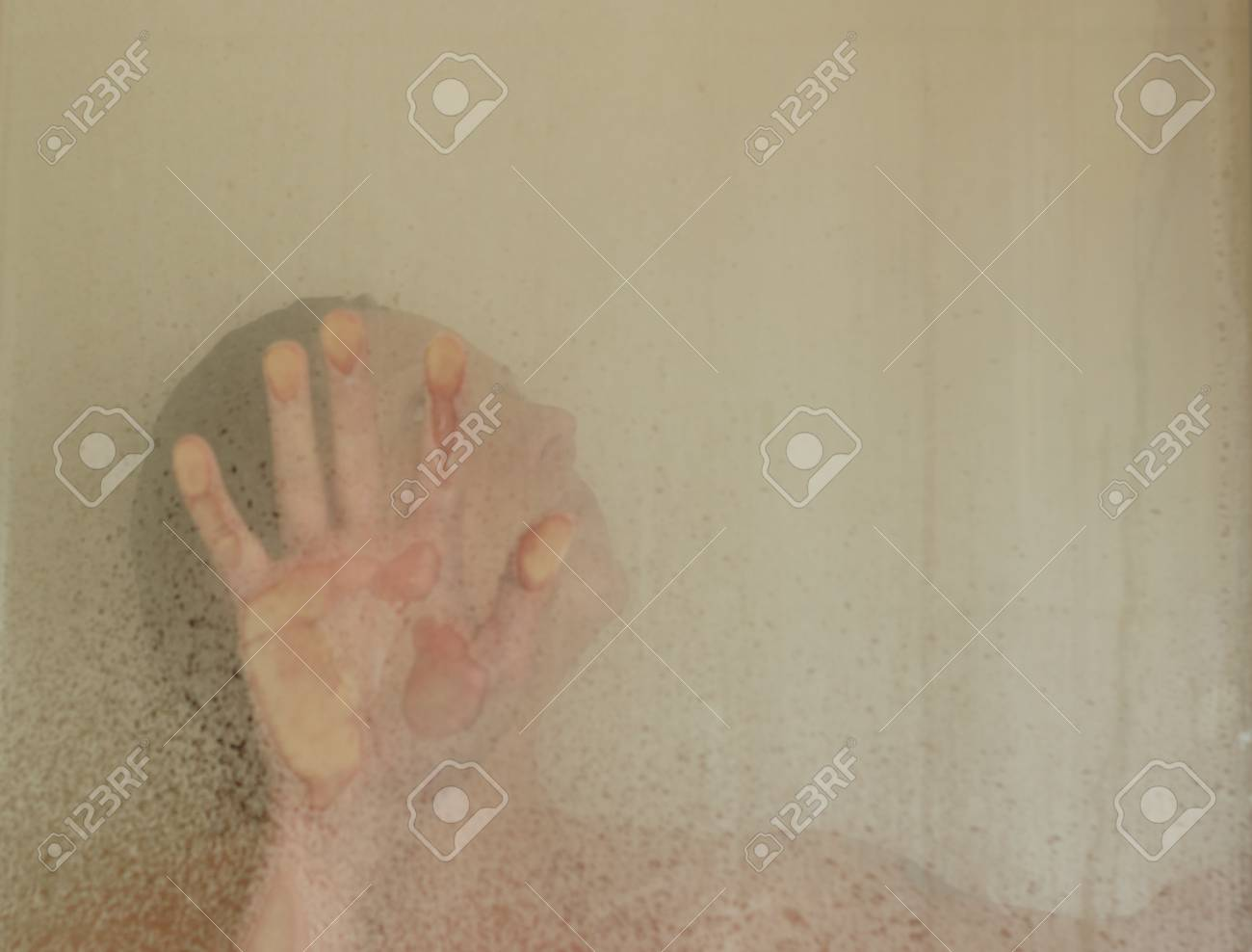 In the shower Stock Photo - 14008734
