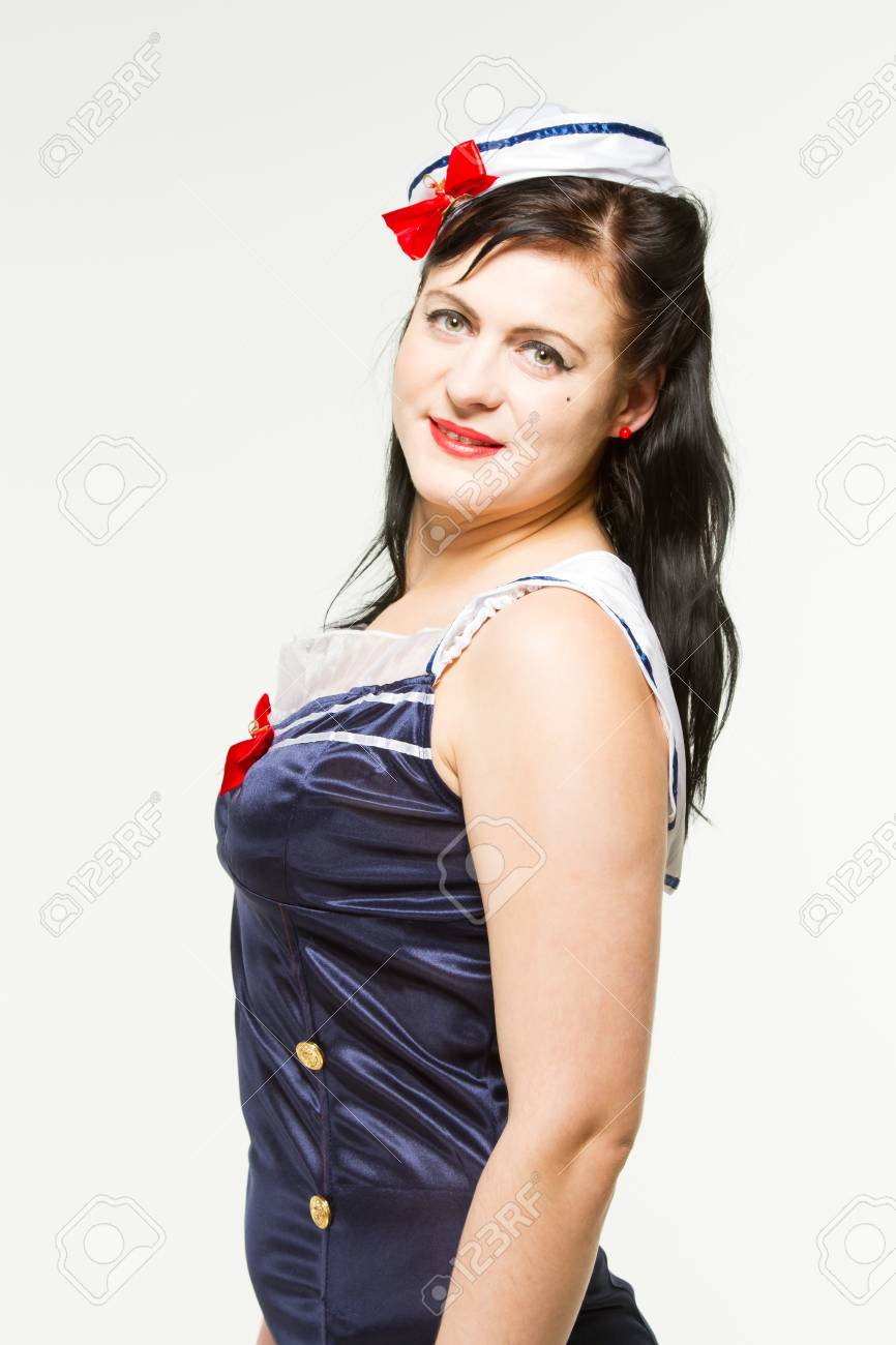 bc231aa7bd3 Woman in 1950 s Pin Up Style Stock Photo - 18060827
