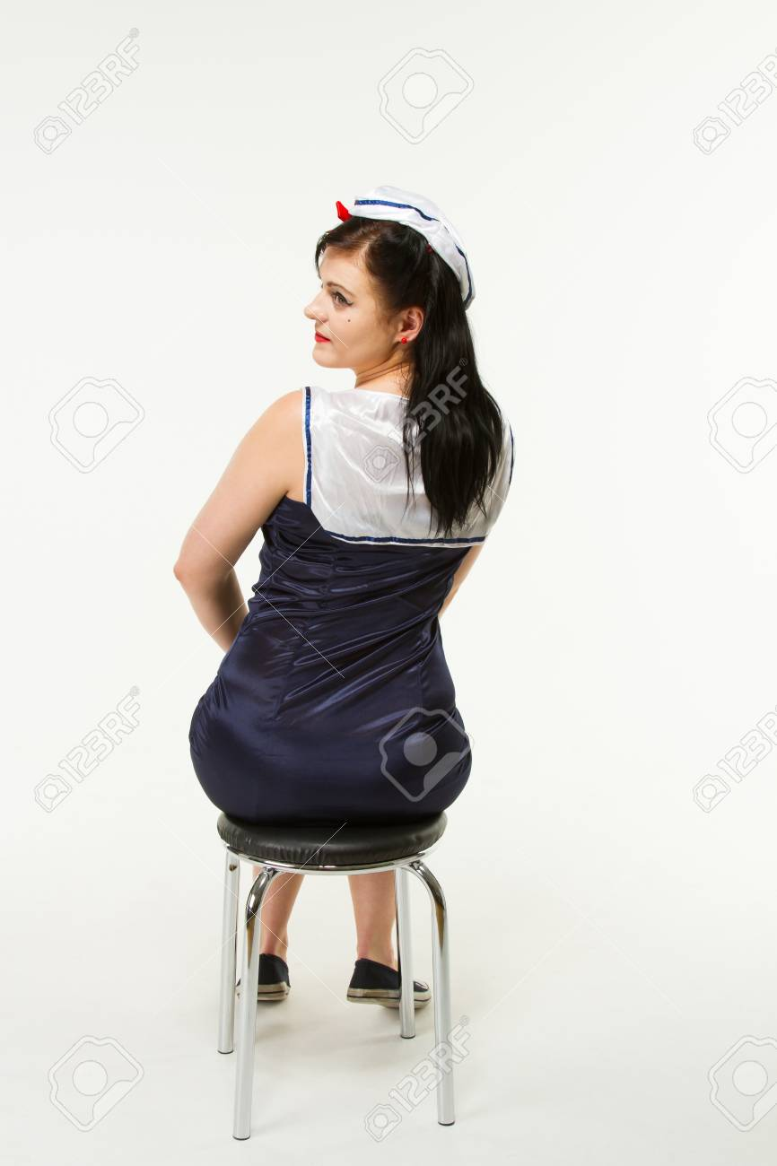7739e04d6e4 Woman in 1950 s Pin Up Style Stock Photo - 18060767