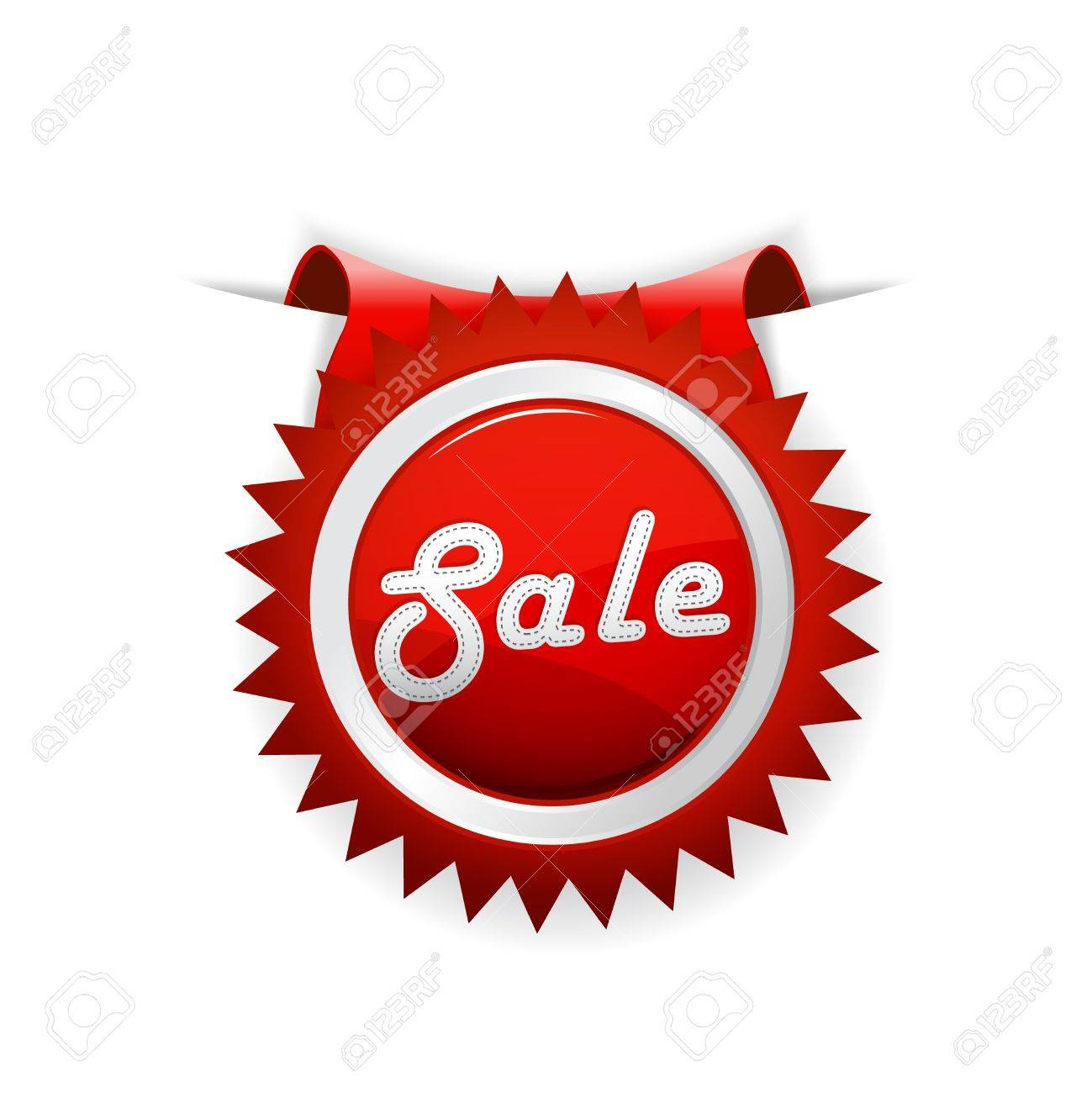 red sale badge vector art royalty free cliparts vectors and stock