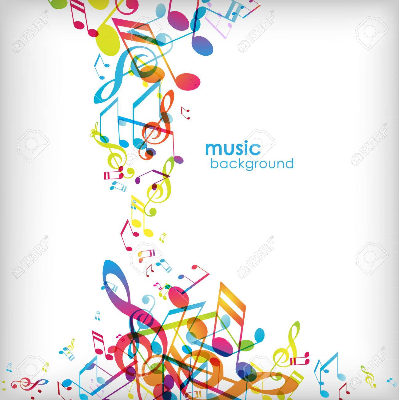 Abstract background with tunes. - 34371851