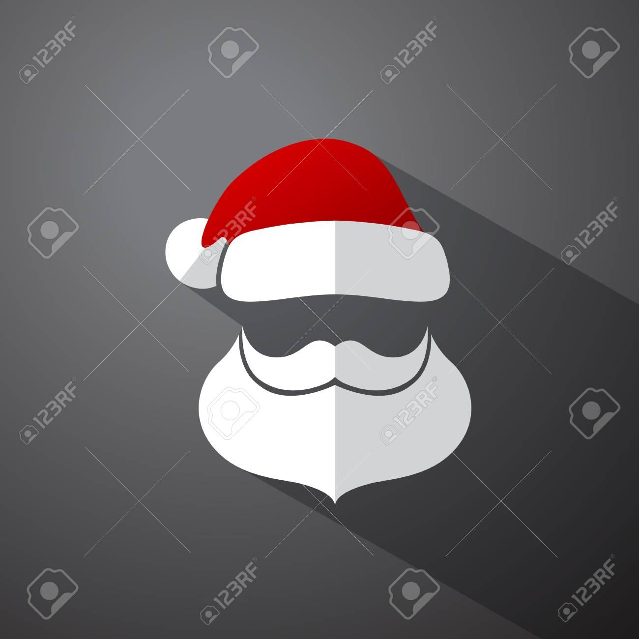 d8b21376f1e Santa Clause Simple Head With Moustache