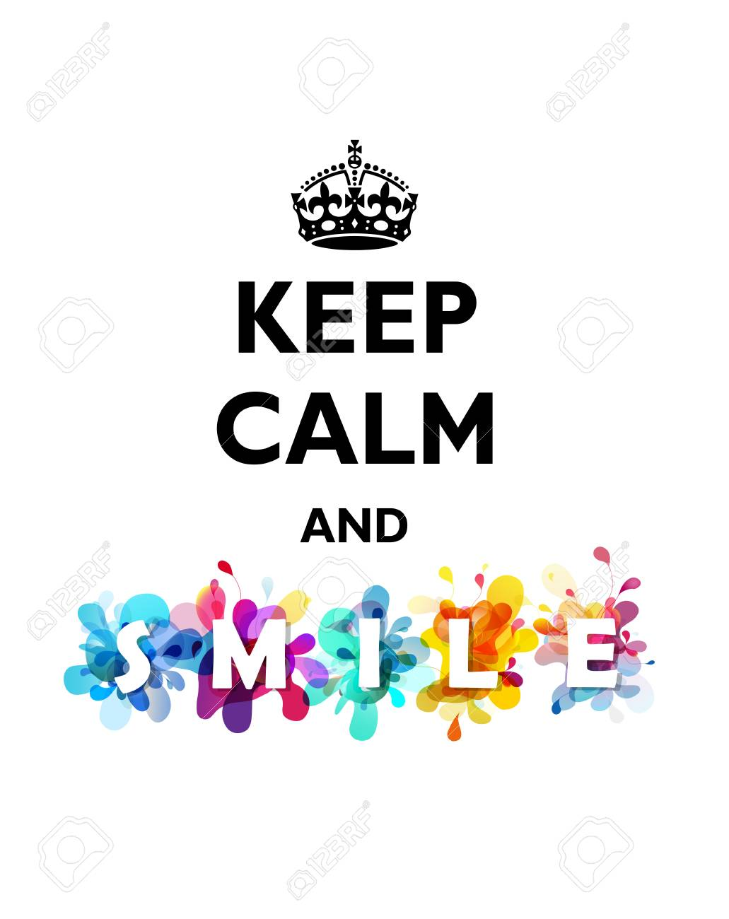 Image result for keep calm and smile