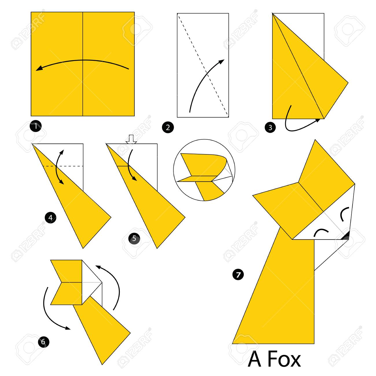 Amazon.com: Watch Clip: DIY How to Make an Origami Fox | Prime Video | 1300x1300