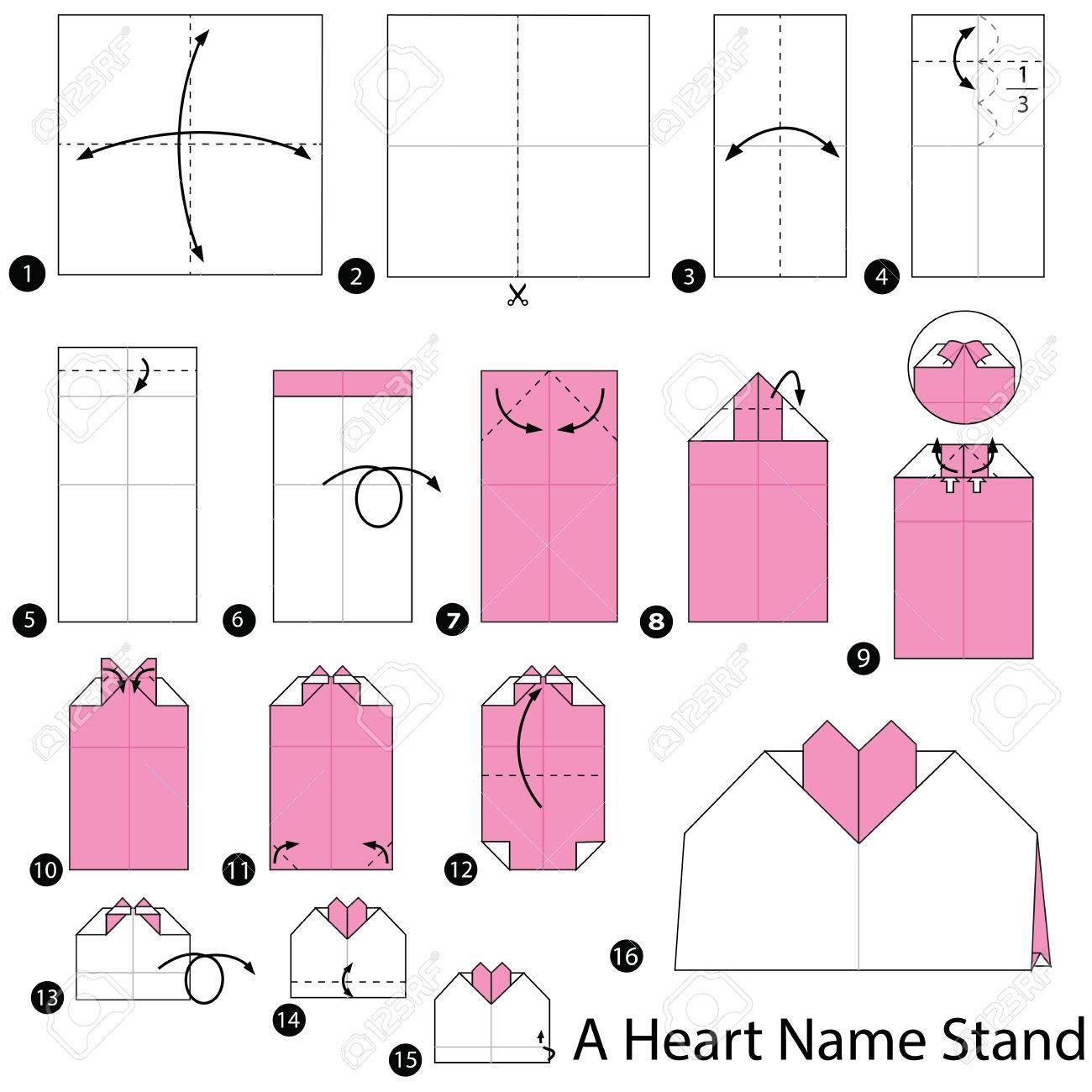 6 easy activities with Valentine's Origami hearts for preschoolers | 1300x1300