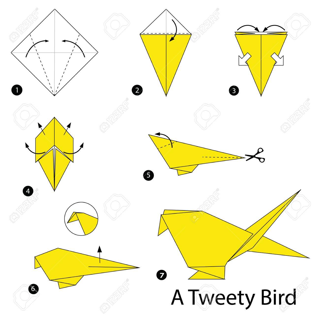 Origami Animals instructions | 1300x1300