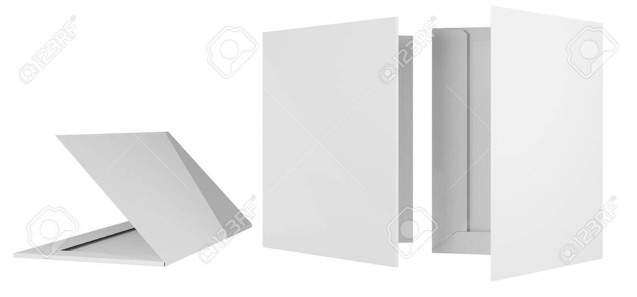 Template briefcase bid two cardboard bending 3d - 31632430