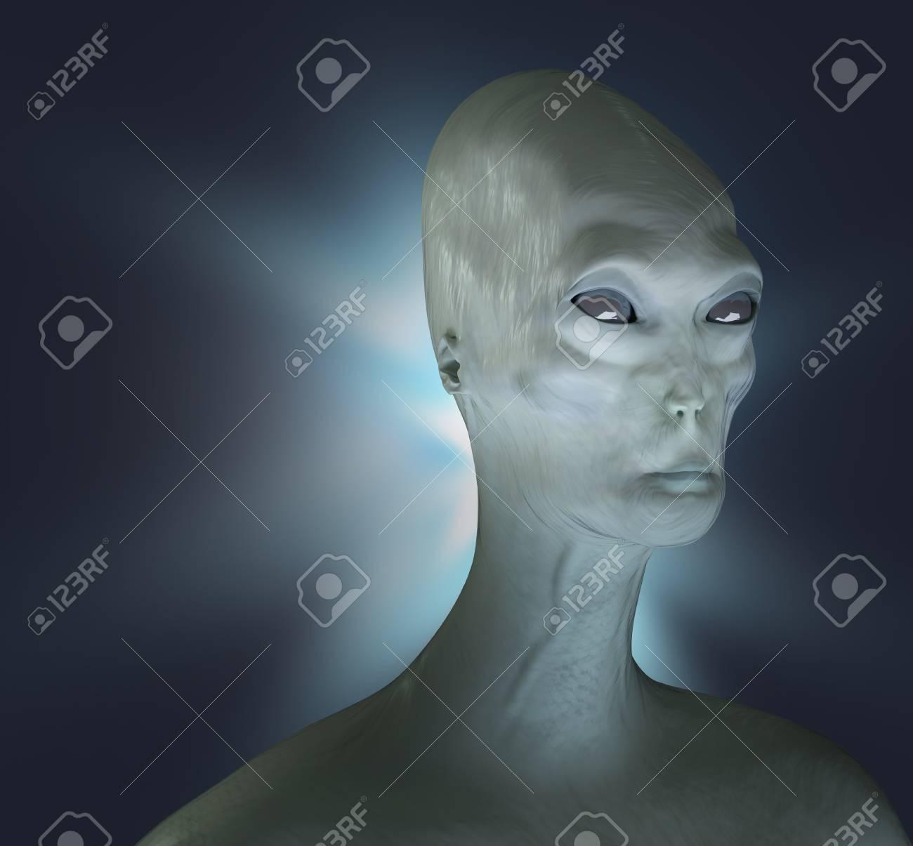 Alien render 3d - 120120810