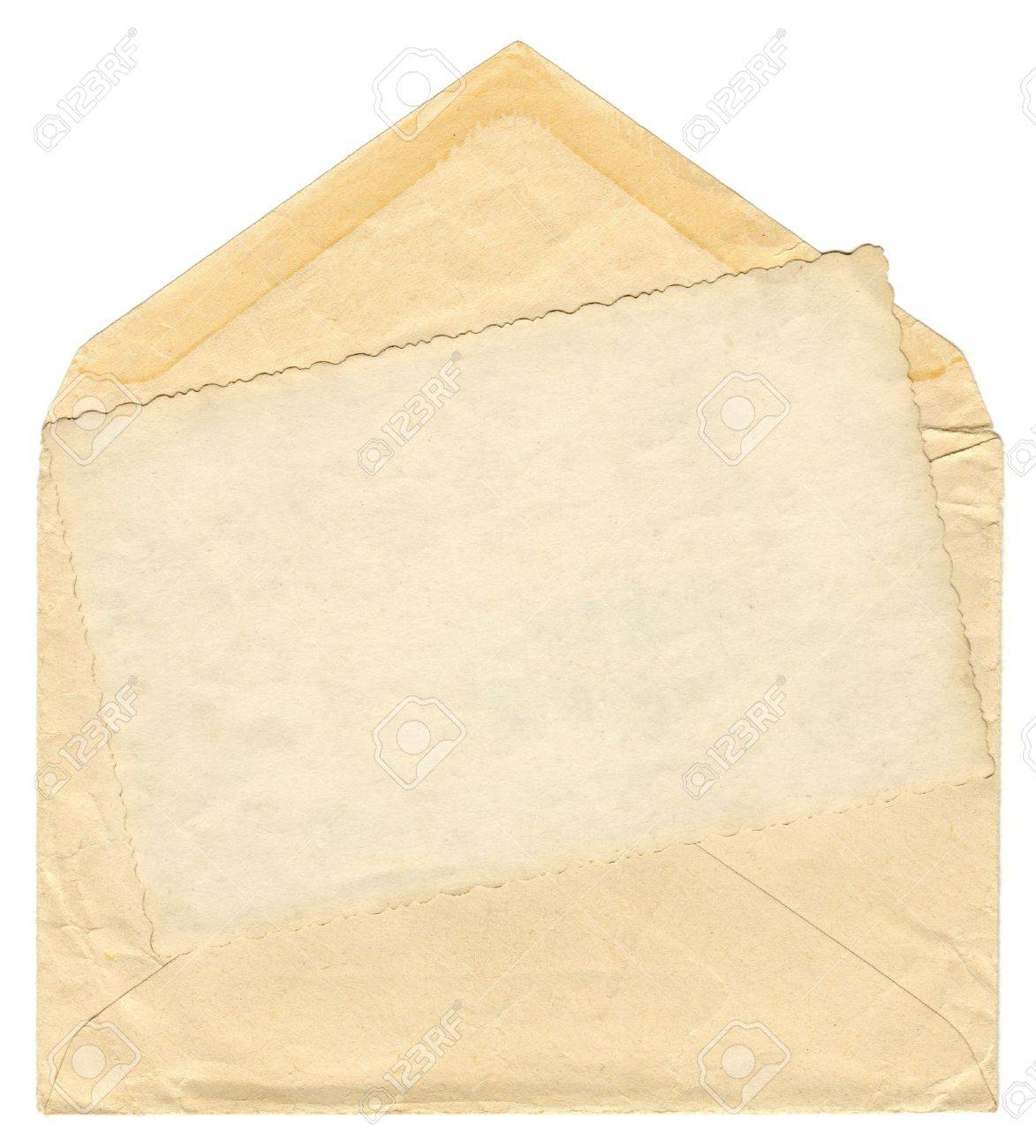 Vintage envelope Stock Photo - 9362710