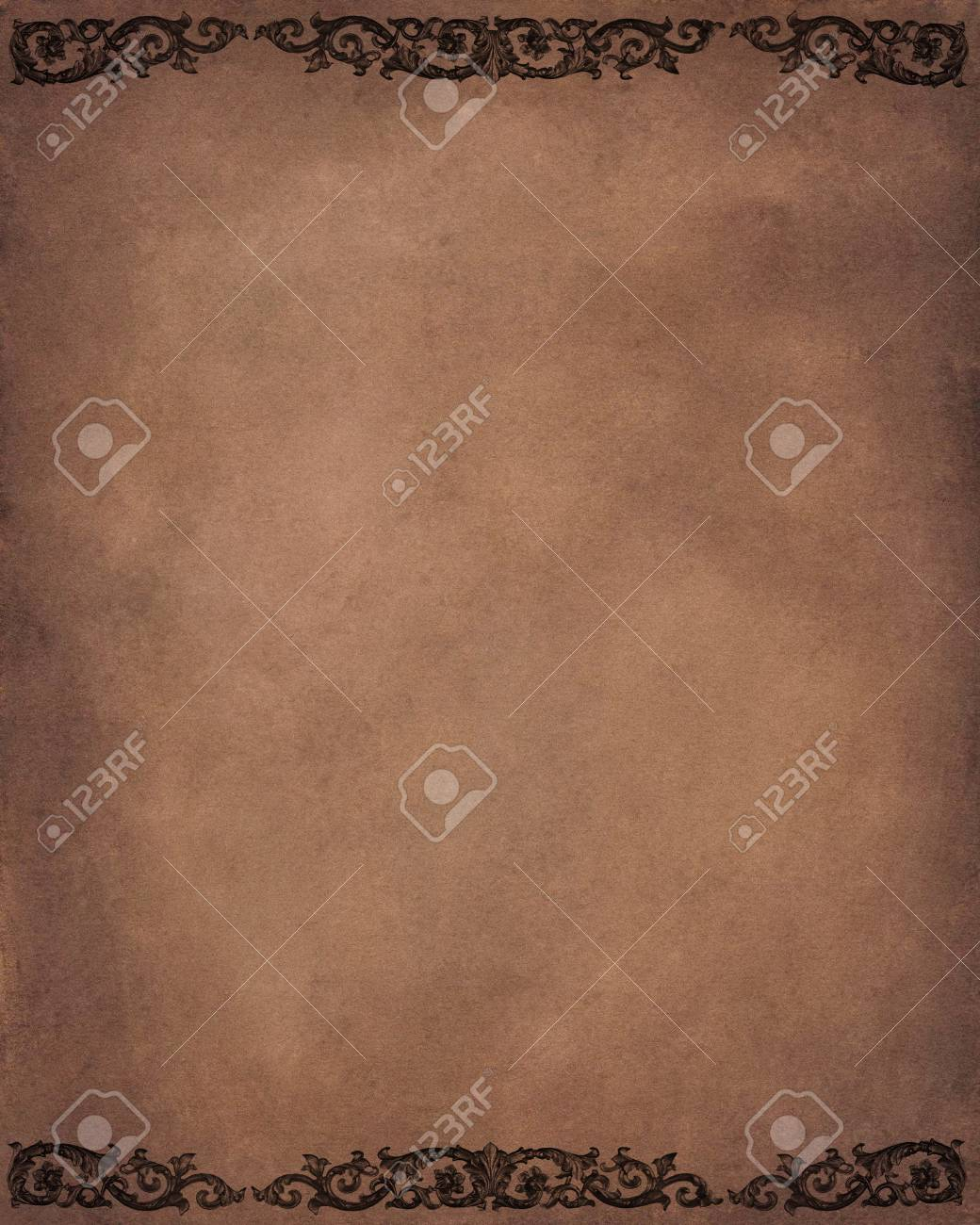 Vintage background with floral desing Stock Photo - 9481697