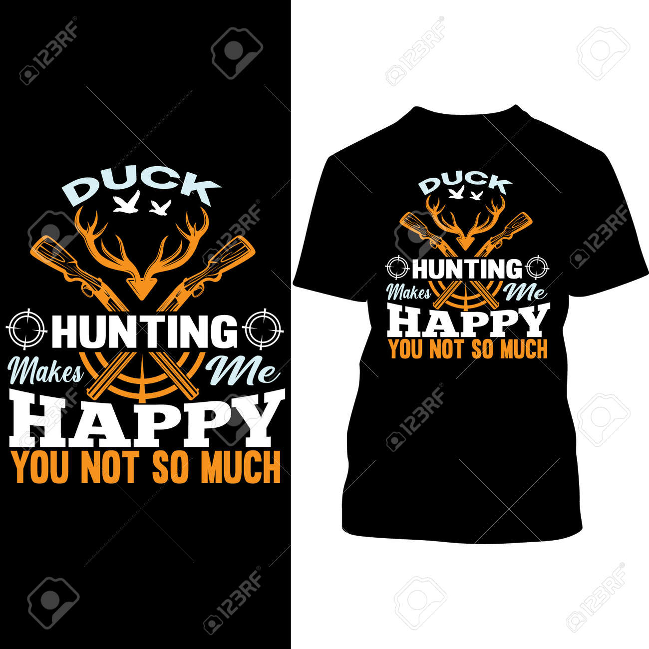 Duck Hunting Makes Me Happy You Not So Much, Hunting Gift - 164299965