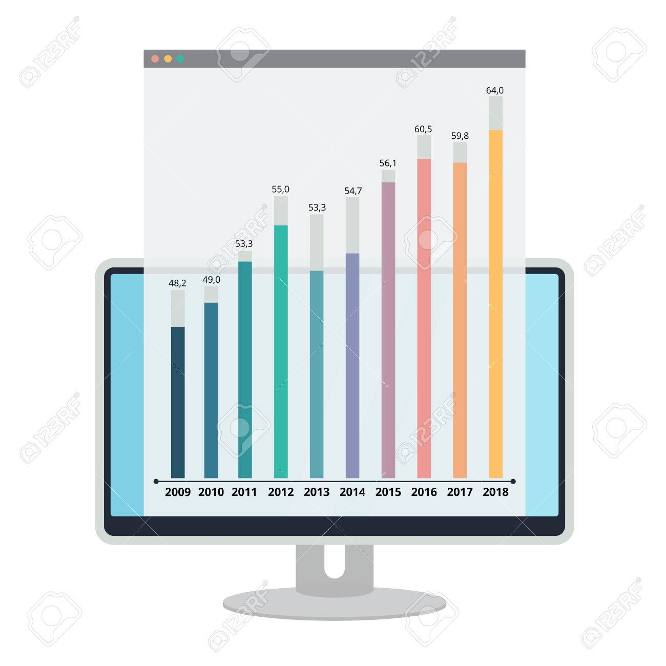 Proportion Scale Chart Graphic Elements Business Process Timeline - Process timeline template