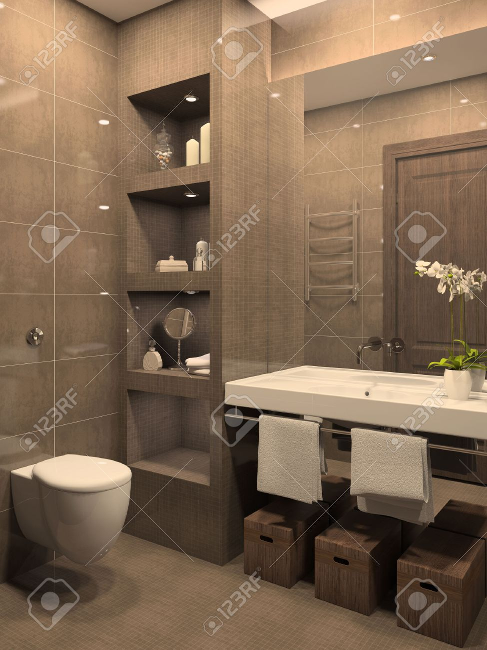 3d bathroom images stock pictures royalty free 3d bathroom 3d bathroom modern bathroom interior 3d render