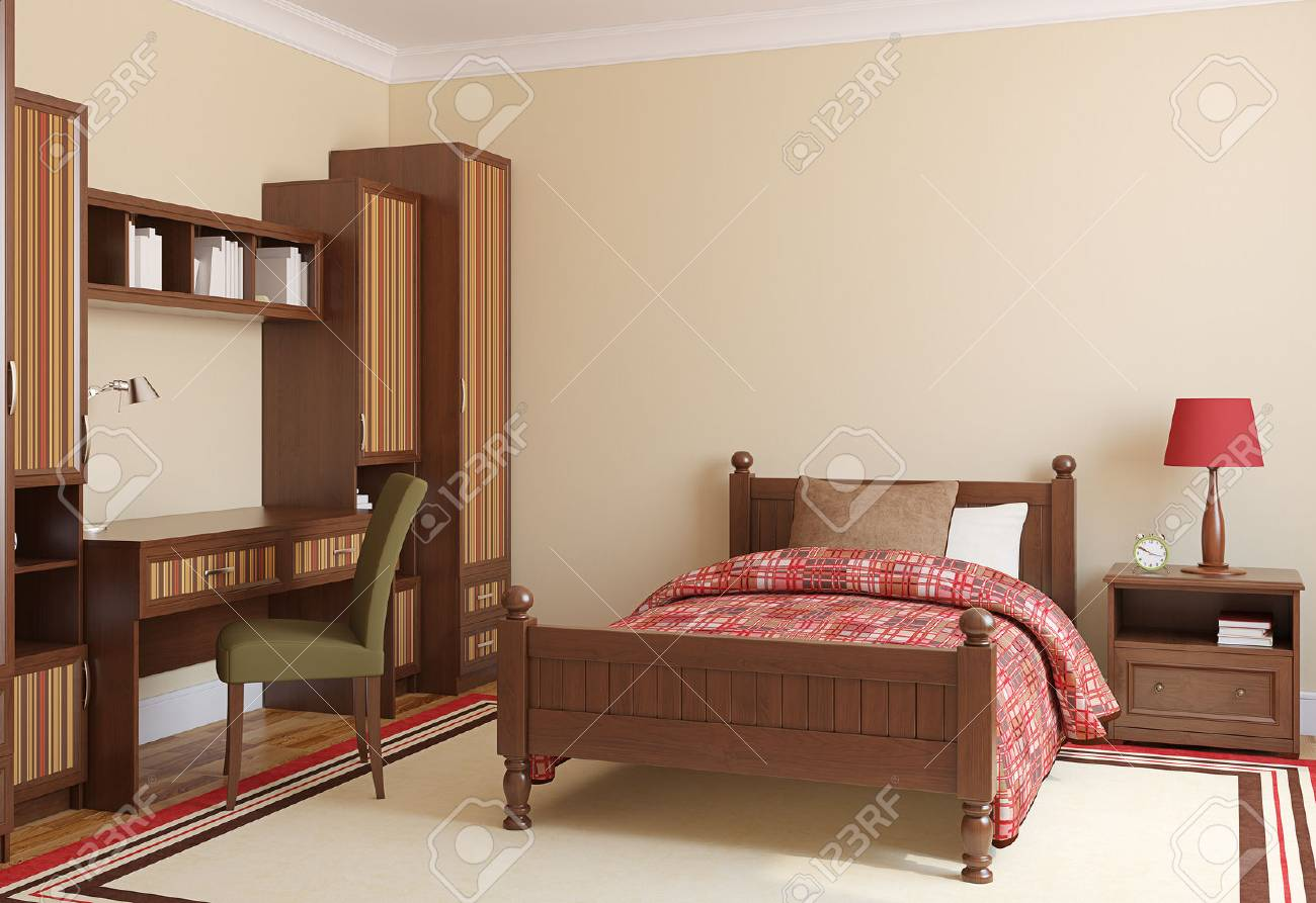 Bedroom For Boy 3d Render Stock Photo Picture And Royalty Free