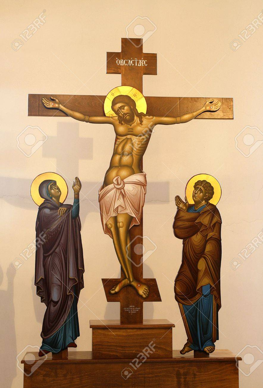 figure of jesus on the cross stock photo picture and royalty free