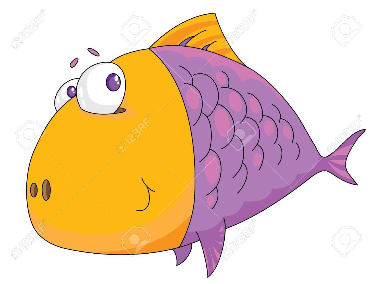 Illustration of a fish big Stock Vector - 11815818