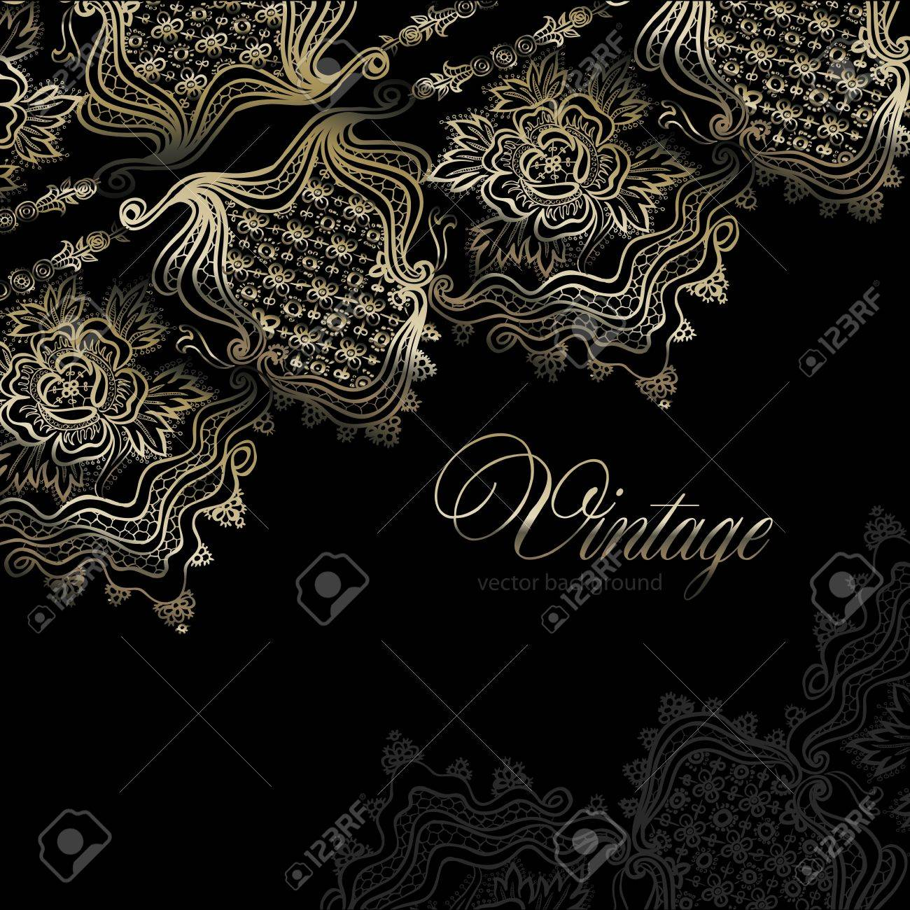 abstract vintage elegant background with a geometrical ornament Stock Vector - 15213608