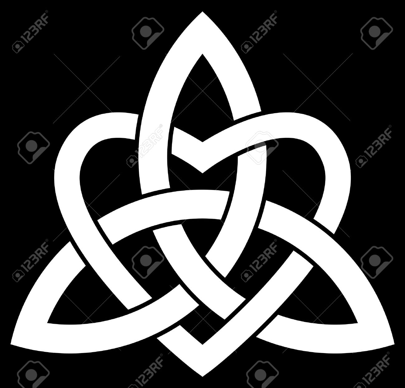 5568 celtic knot stock vector illustration and royalty free celtic celtic trinity knot triquetra interlaced with a heart biocorpaavc Gallery