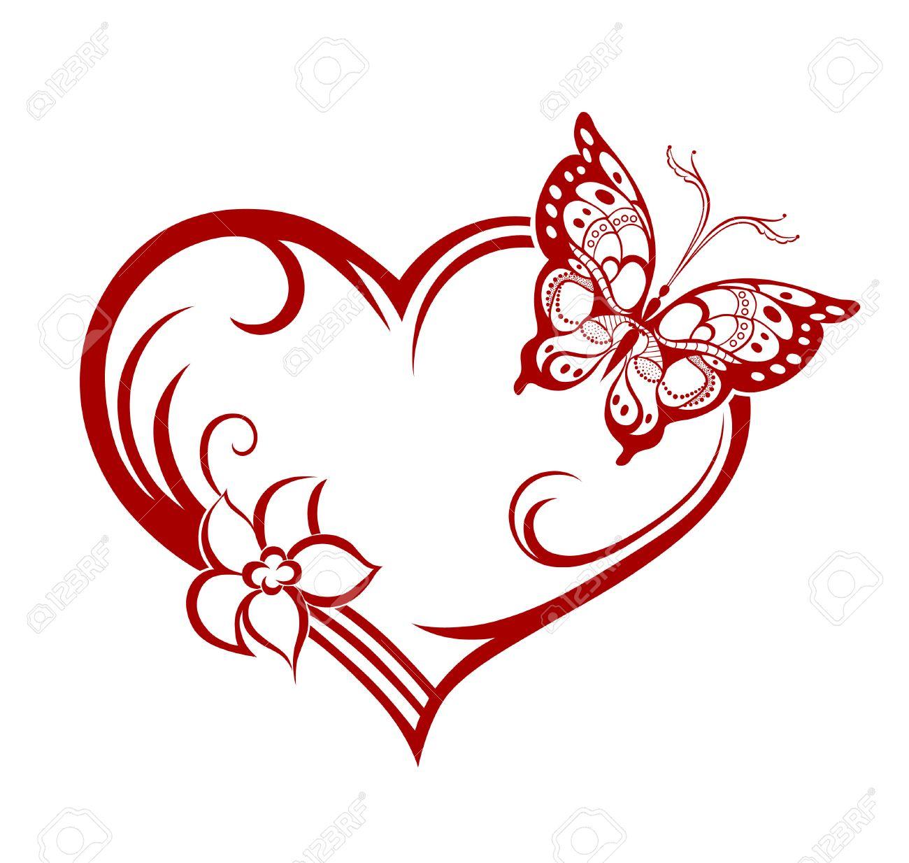 Silueta Abstracta De La Mariposa Decorativa Esta Disenado Para - Imagenes-para-decorar
