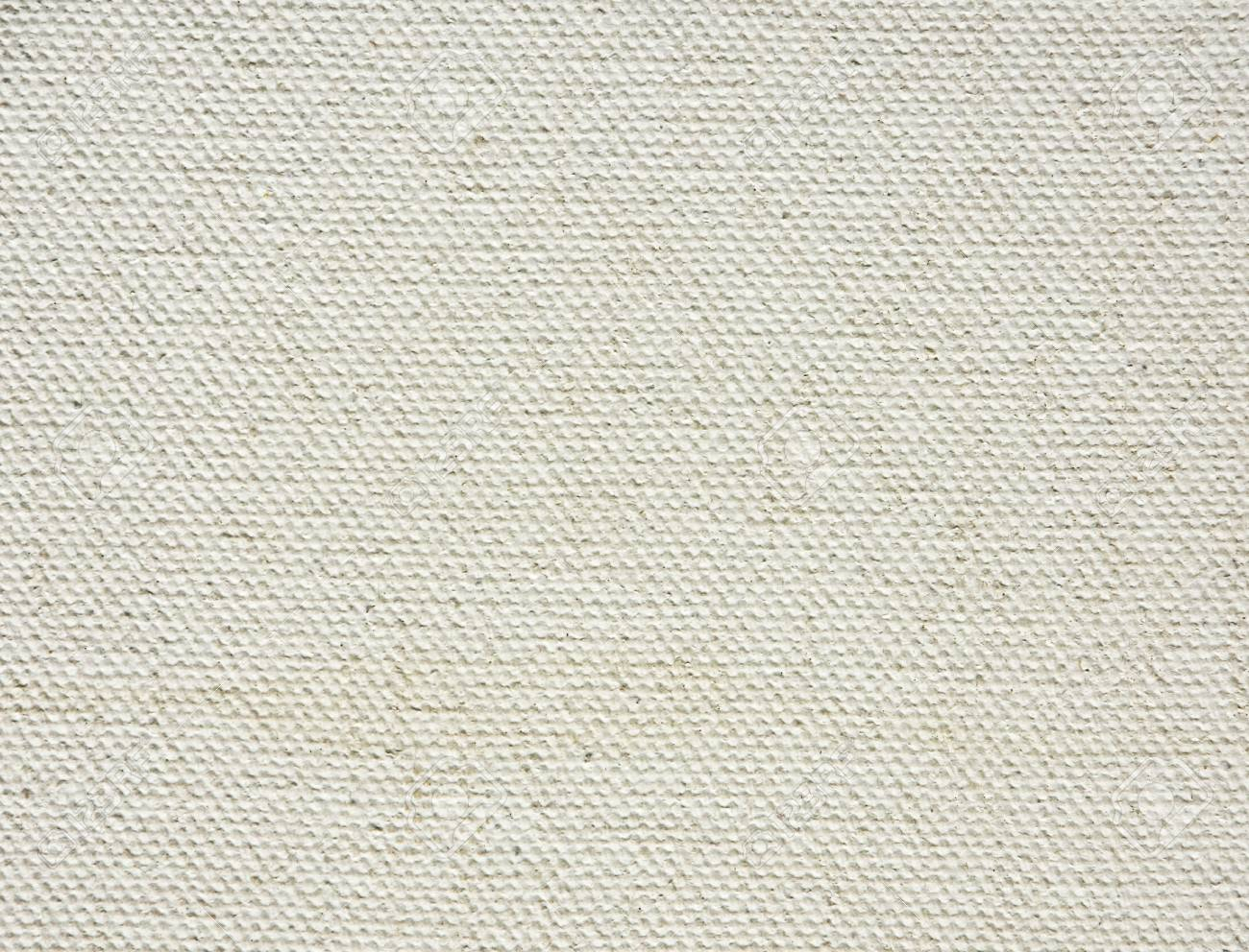 White Canvas Texture Background Framed For Painting Stock