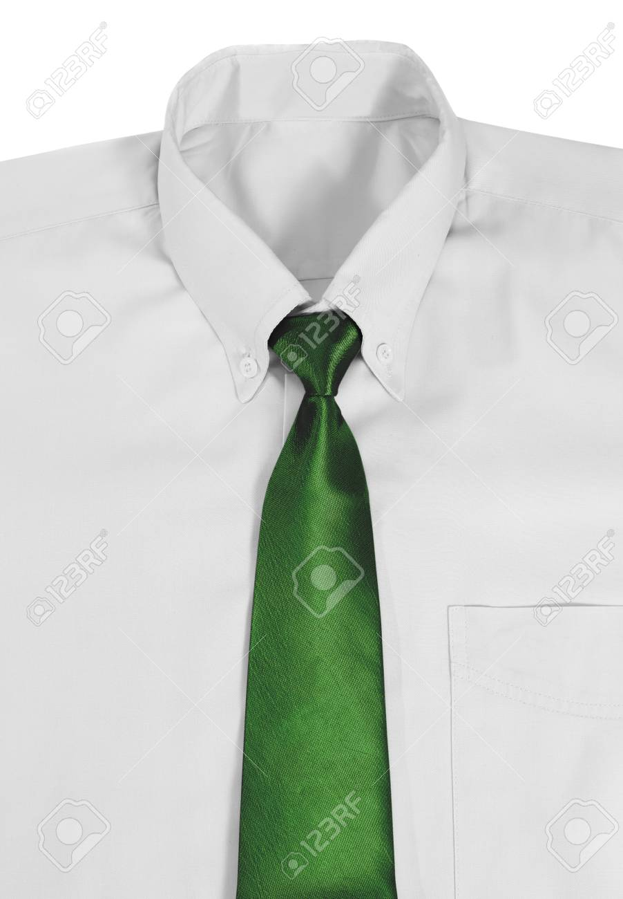 8c38eb794d6829 Closeup image of shirt and necktie on white background Stock Photo -  32500644