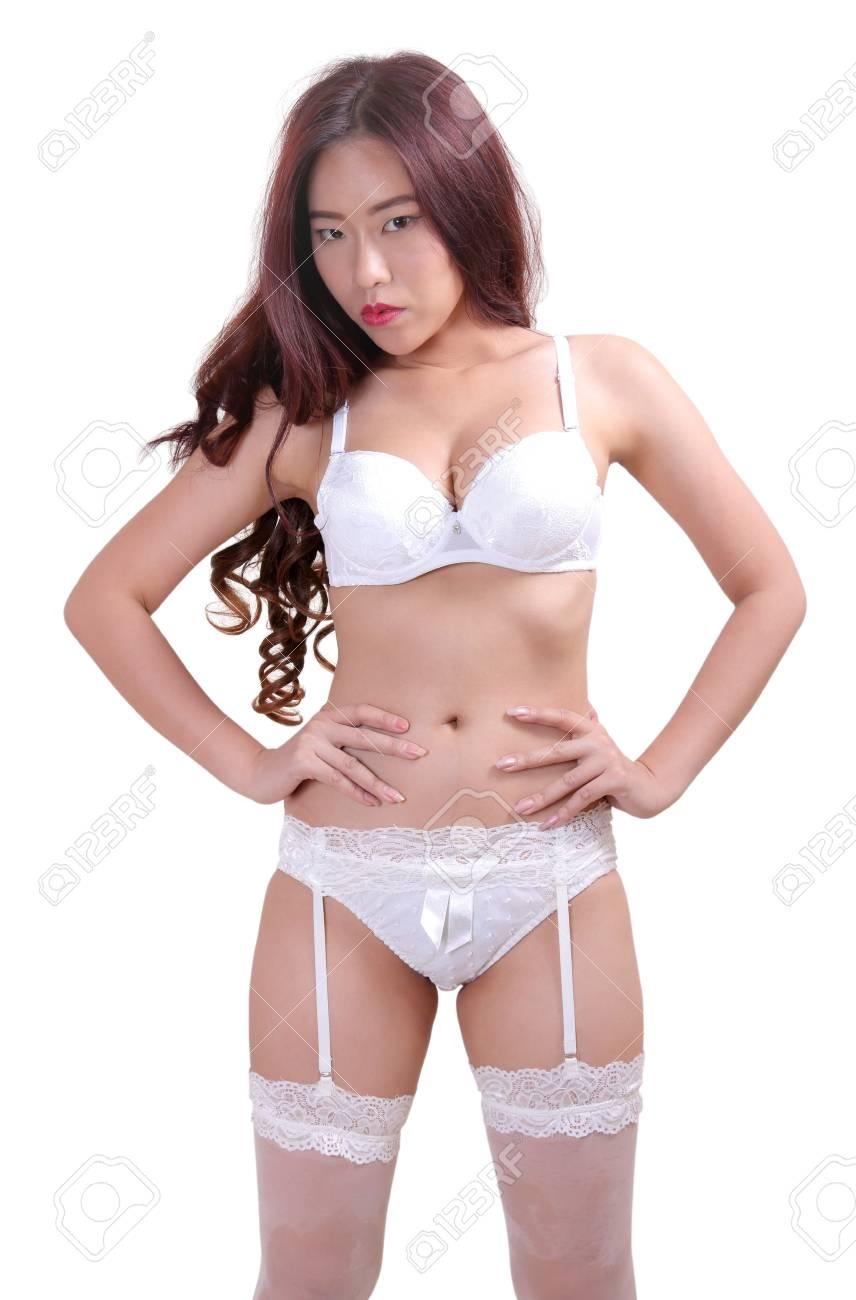 Asian women in panties