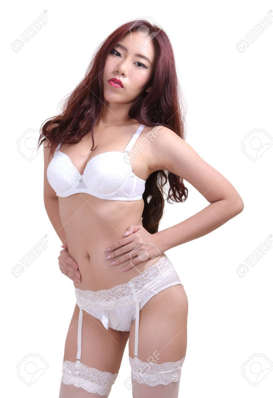 Sexy asian women in panties