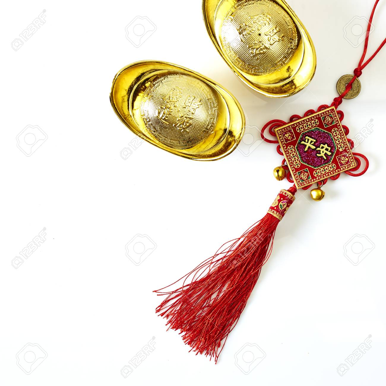 Chinese New Year is something sacred amulets to bring good luck to Him - 69771646