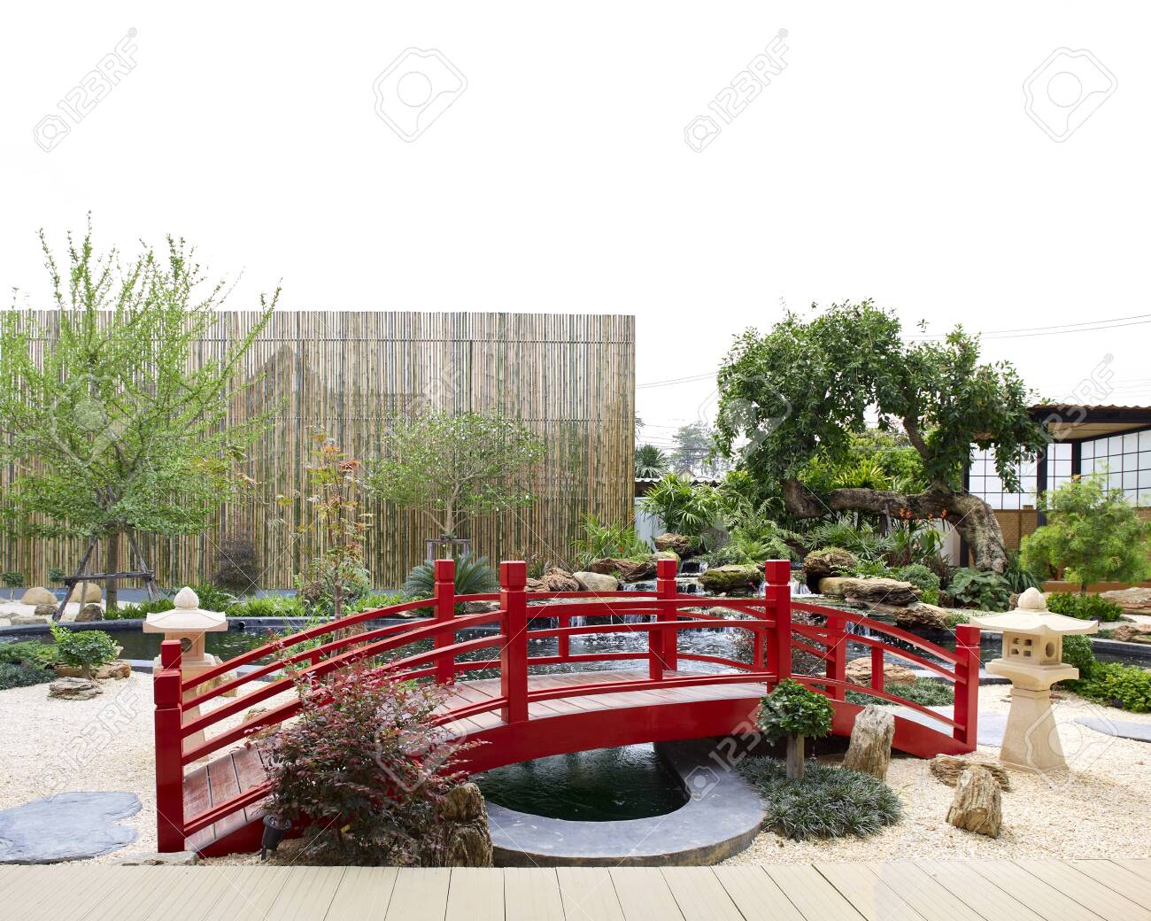 Japan With Small Inside Indoor Garden Japanese Traditional Garden Stock Photo Picture And Royalty Free Image Image 140227757