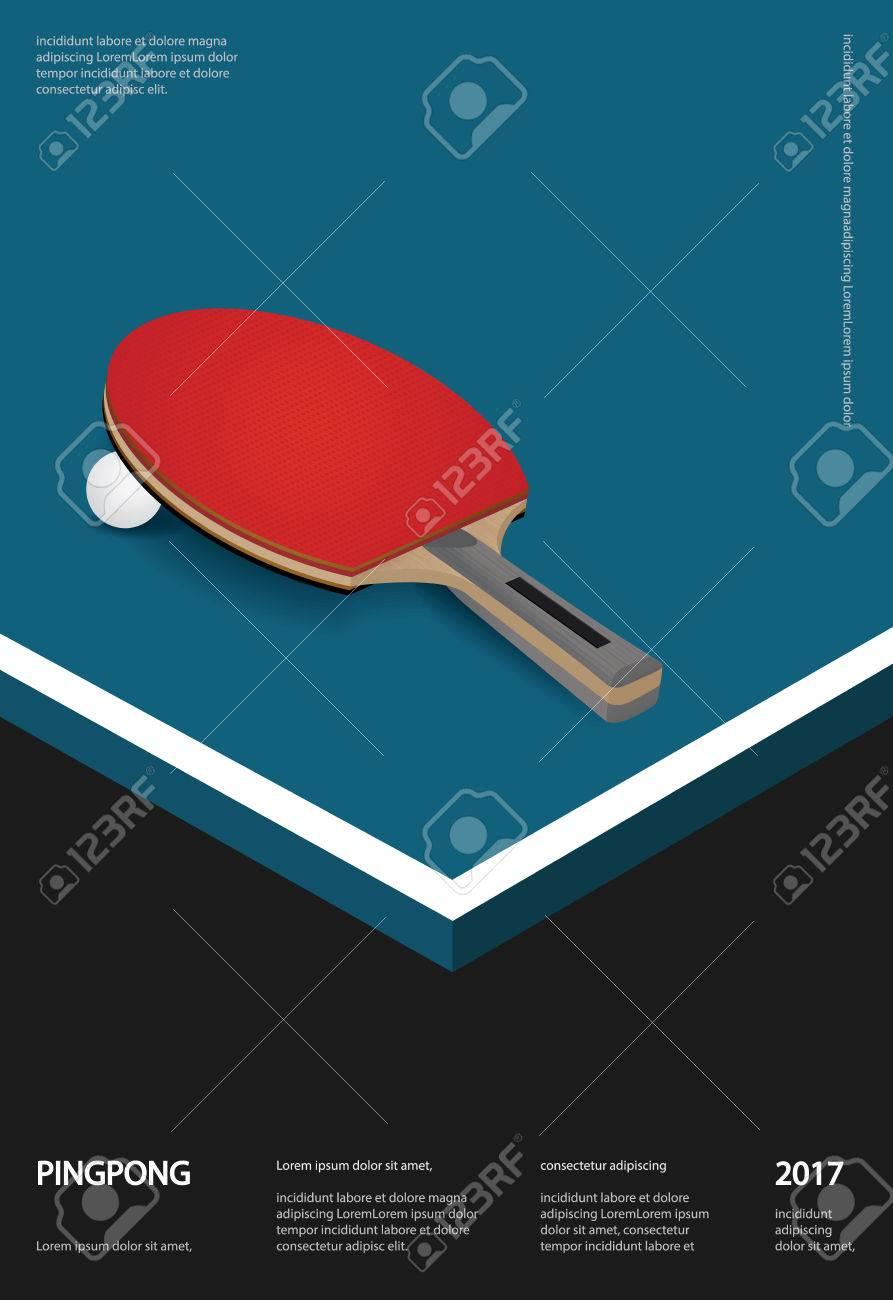 Magnífico Plantilla De Ping Pong Paddle Cresta - Colección De ...