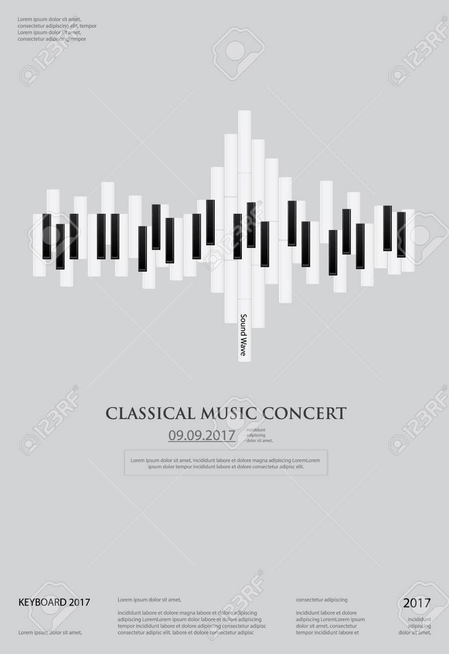 music grand piano poster background template royalty free cliparts