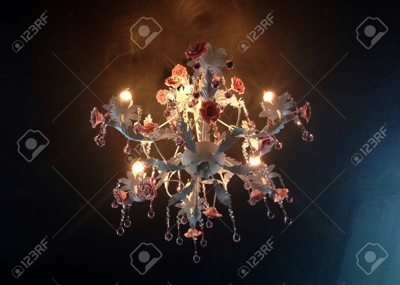 chandelier on the ceiling Stock Photo - 22879336