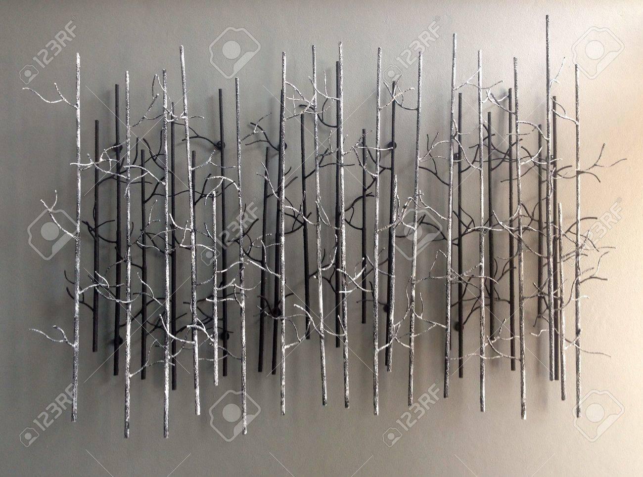 ast abstrakte dekoration für wand lizenzfreie fotos, bilder und, Wohnzimmer dekoo