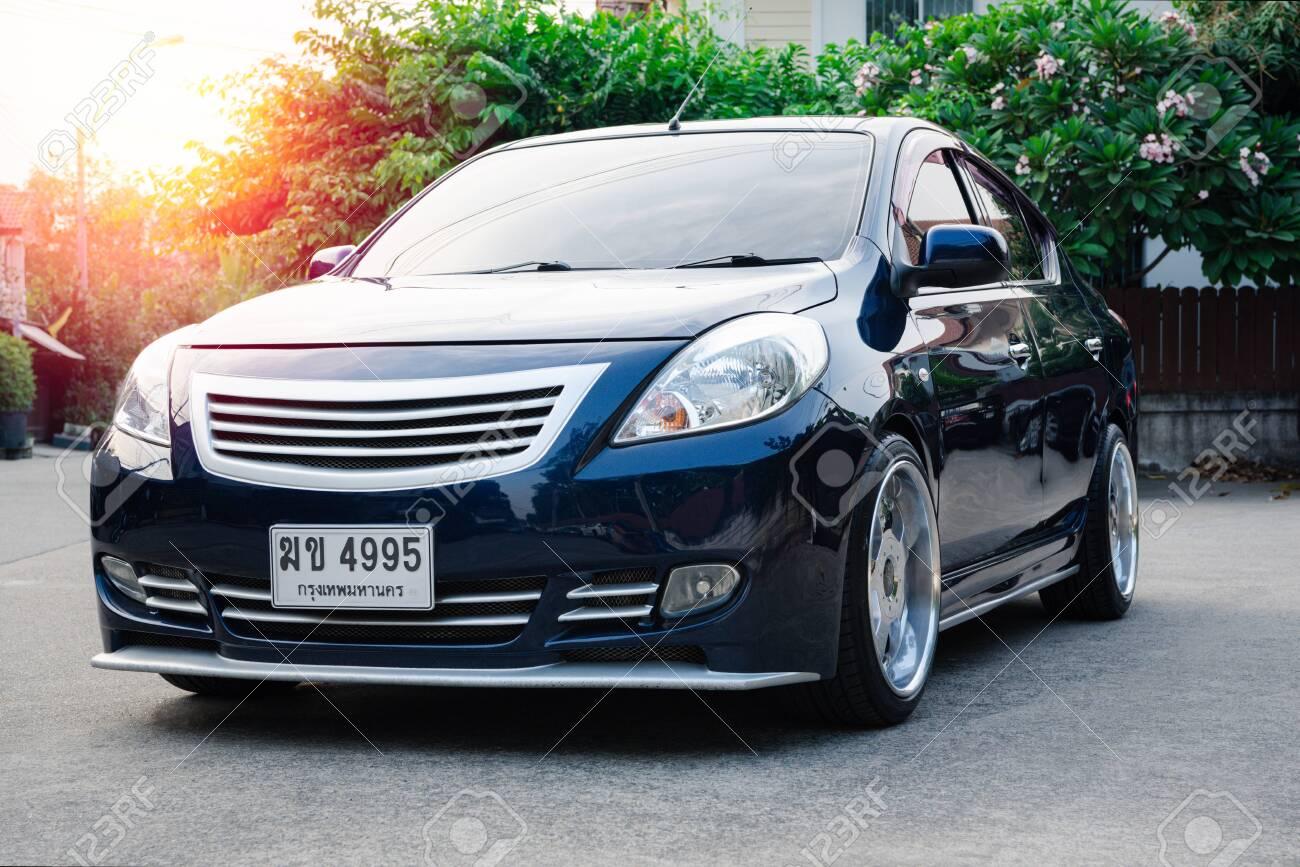 Bangkok Thailand January 12 2020 Nissan Almera An Eco Stock Photo Picture And Royalty Free Image Image 142312258
