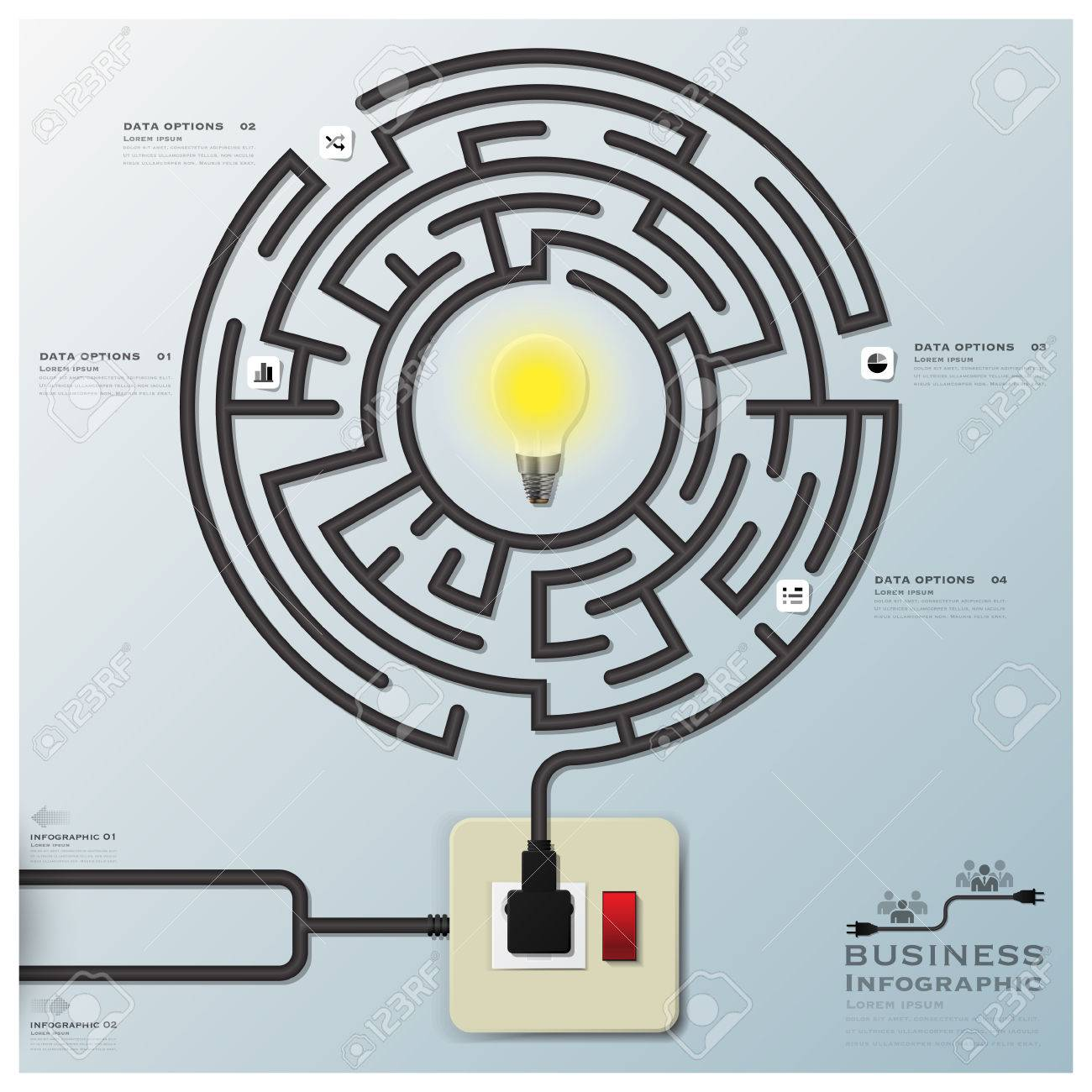 Light Bulb Wiring Maze - DIY Enthusiasts Wiring Diagrams •