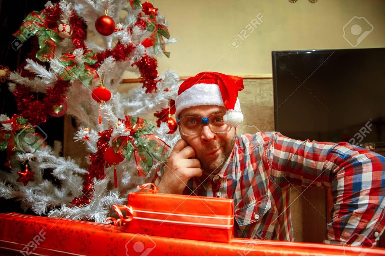 Weihnachtsbaum Fun.Stock Photo