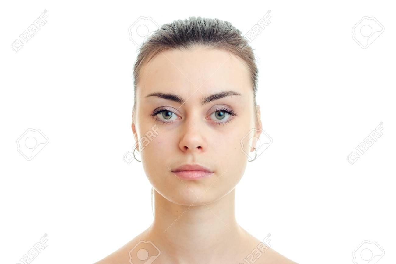 girl face without makeup