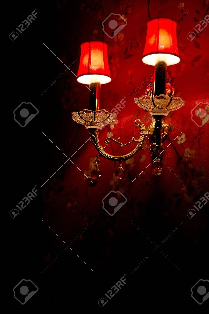Vintage Wall Lamp Stock Photo Picture And Royalty Free Image Image 15992581