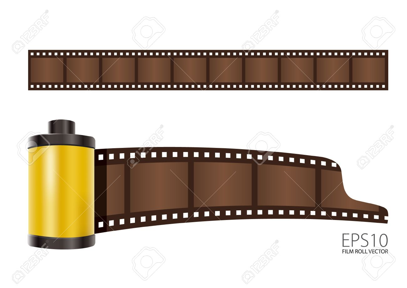 Yellow Film Roll Royalty Free Cliparts, Vectors, And Stock ...
