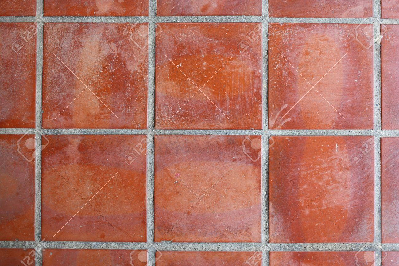 Red Floor Tile Stock Photo Picture And Royalty Free Image Image