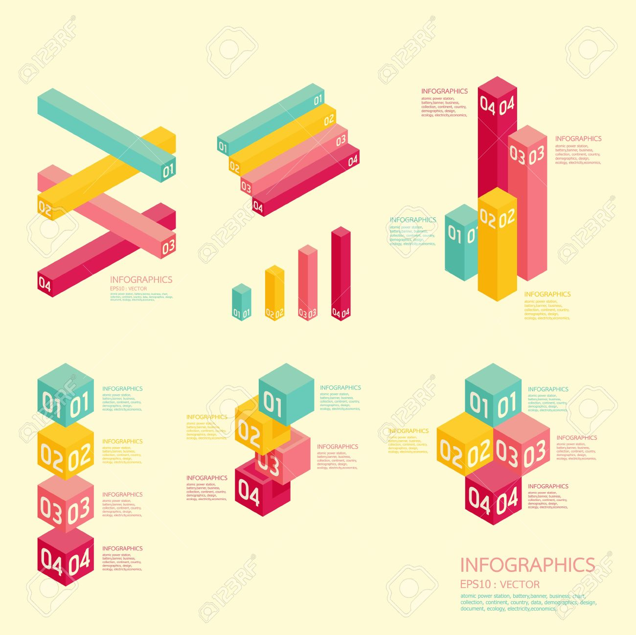 Website soft colors - Modern Soft Color Graph Design Can Be Used For Infographics Numbered Banners Graphic Or Website Layout