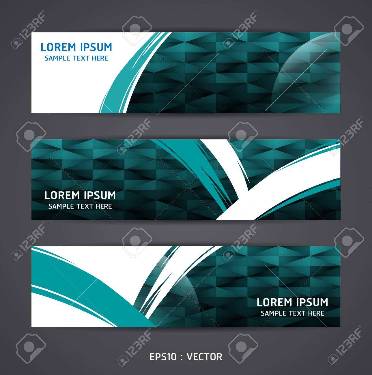 Collection banner design Horizontal Stock Vector - 15831690